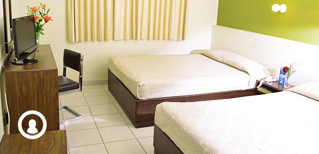 Hotel en León Guanajuato México - Hotel Terranova - Hoteles en Leon - hospedaje en en leon guanajuato - habitaciones